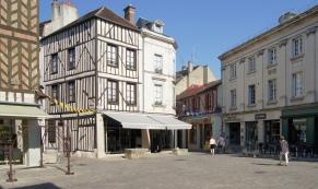 Place et maisons à colombage