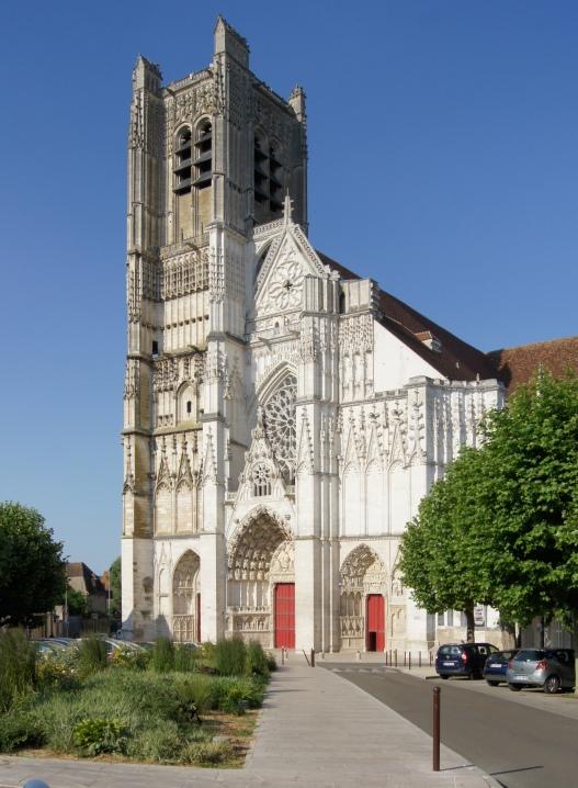 Cathédrale St Etienne - Facade