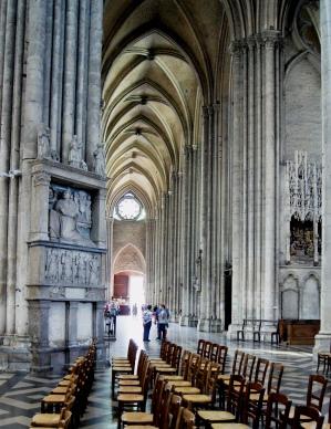 Cathédrale Amiens - Travée Latérale
