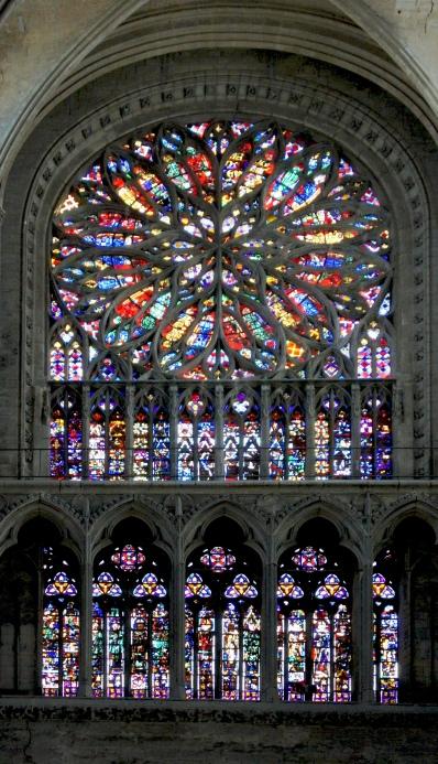 Cathédrale Amiens - Rosace du choeur
