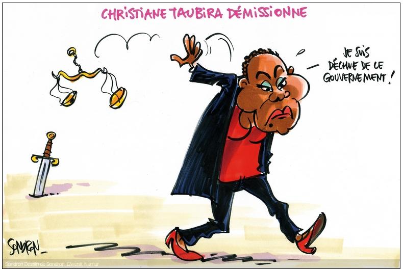 Taubira demissionne