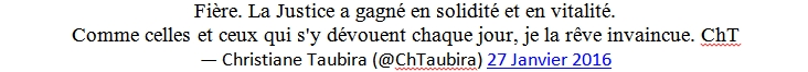 Taubira Tweet 2