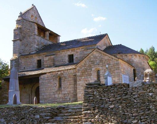 Eglise St André Lachamp - Ardèche
