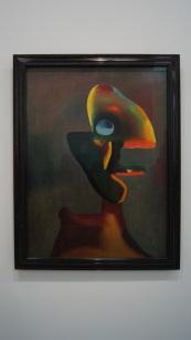 Miro - Tete d'homme - 1935