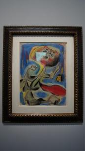 Miro - Femme en révolte - 1938 Désolé pour le reflet de la fenêtre