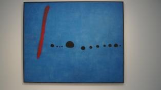 Miro - Bleu II - 1961 (un element d'un triptyque bleu)