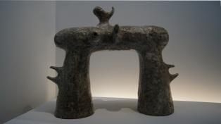 Miro - Projet pour la fondation Maeght - 1963 (Sculpture monumentale qui sera réalisée en 1965)