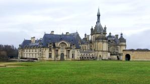 Château Chantilly Vue du parc