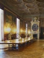 Château de Chantilly - Galerie d'Office - La grande table de reception