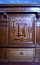 Château Chantilly - La chapelle - Un des panneaux de marqueterie